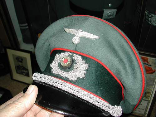 Some Unusual Army Caps