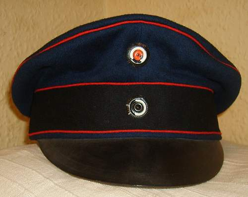 A brief history of the leather peaked field cap............otherwise termed the crusher