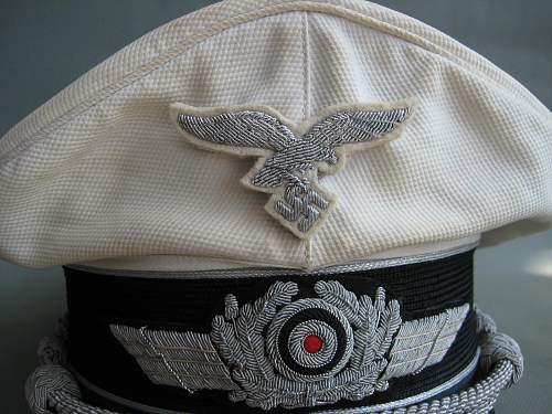 luftwaffe white top off visor