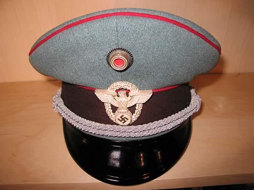 GEMPO Officer's Visor
