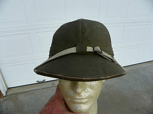1st Pattern Tropical Pith Helmet pickup.