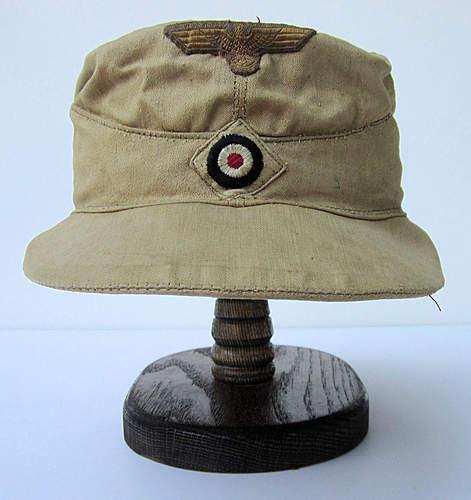 French made Kriegsmarine tropical cap