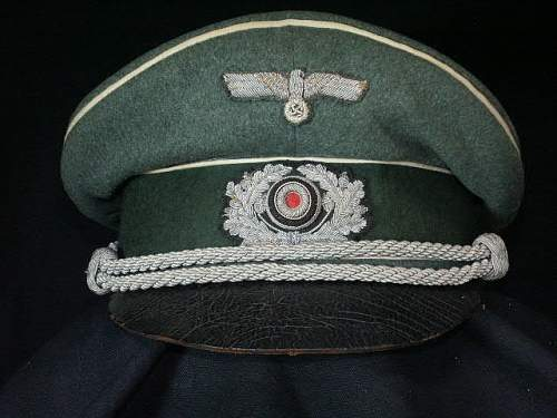 Inf. Officers Cap