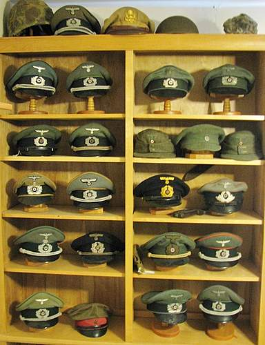 Headgear collection display