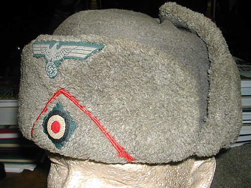 """Captured"" Soviet Headgear"