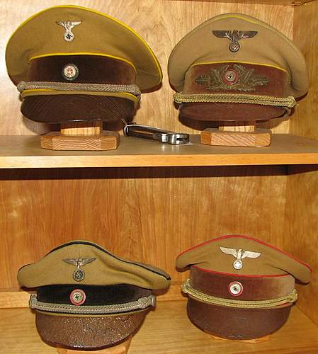 Click image for larger version.  Name:NSBO, Reichsleiter, Kreis and Gauleiter.jpg Views:385 Size:99.2 KB ID:377979