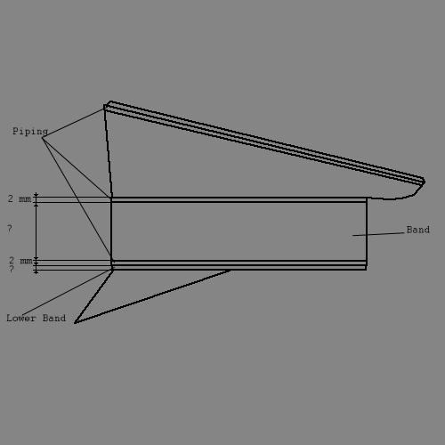 Schirmmutze regular dimensions