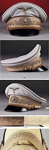 The Ultimate Luftwaffe Officer's Visor!