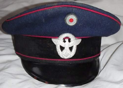 police visor cap good or bad?
