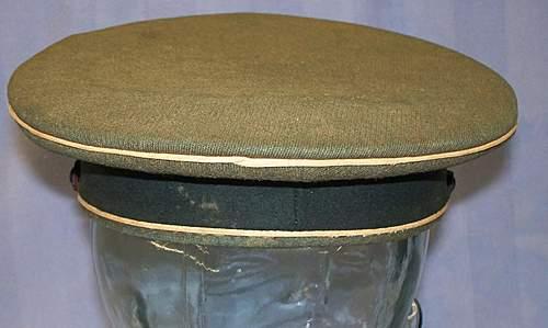 Heer Infantry Enlistedman's Visor Cap