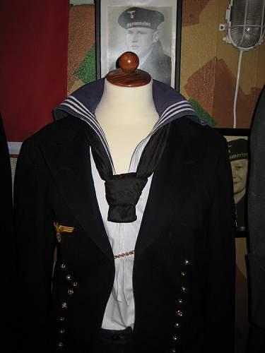 Headgear from Tirpitz