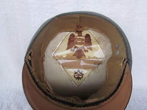 EM/NCO Heer Infantry Visor Cap - My Very First Visor!