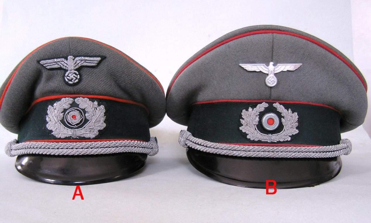 Military Police Recruiting officer visor cap 758c2bc5881