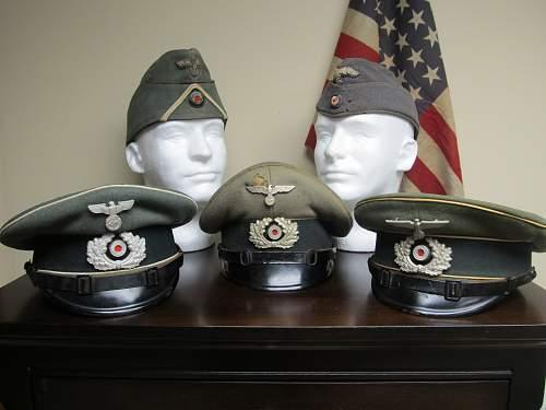 Just my caps on my dresser