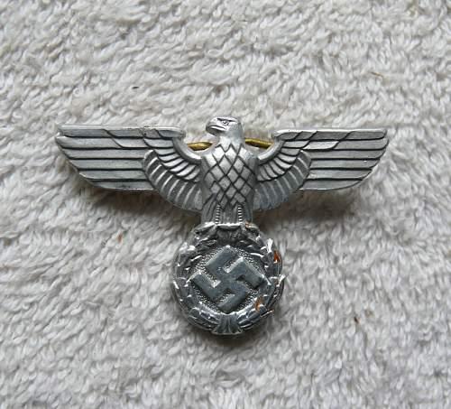 SA Cap Badge.........