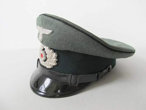 Heer Pioniers NCO's Schirmmutze