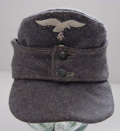 Click image for larger version.  Name:Luftwaffe Other ranks Einheitfeldmutze..JPG Views:149 Size:108.4 KB ID:4706