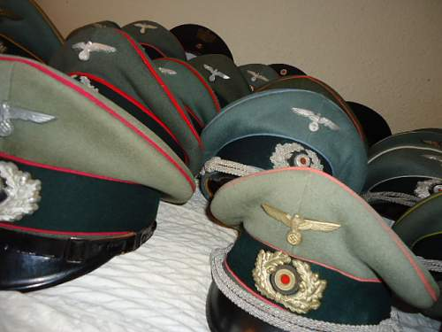 """""""Caps on a bed"""""""