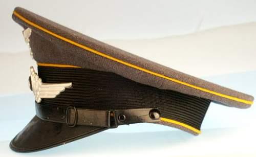 Luft EM Visor Cap (unissued)