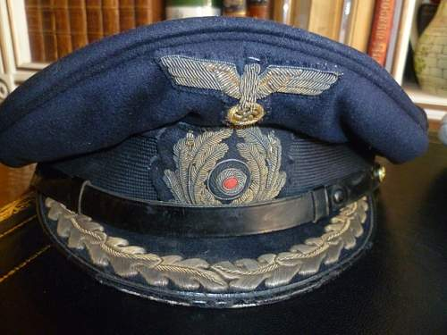 Kriegsmarine Visor Thread
