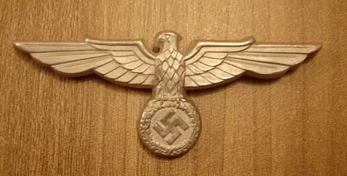 Reichsbahn General's Visor