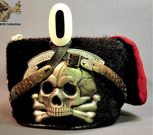 Erel Crusher for Kavallerie Regt No. 5 with Danziger Skull