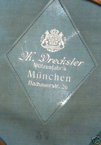 Deutsches Reichsbahn-Wasserschutzpolizei Visor...