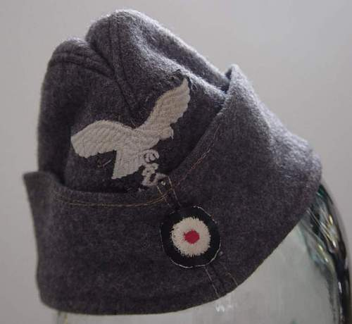 Click image for larger version.  Name:Luftwaffe other ranks Fliegermutze.jpg Views:197 Size:56.1 KB ID:5835