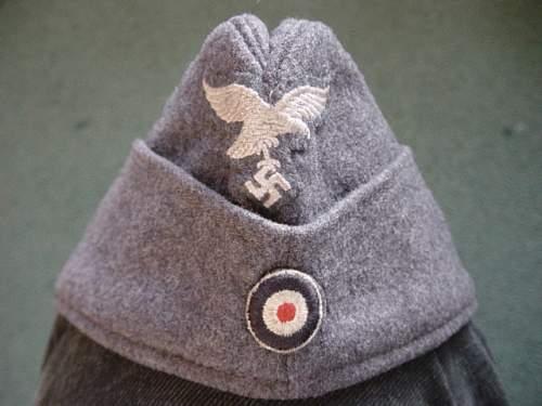 Click image for larger version.  Name:Luftwaffe Fliegermutze 001.jpg Views:55 Size:148.4 KB ID:5837