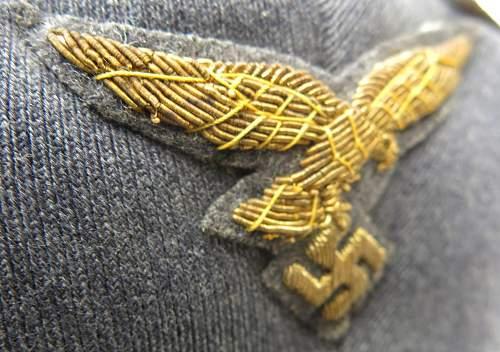 Click image for larger version.  Name:Luftwaffe Erel generals visor cap 011.jpg Views:90 Size:225.1 KB ID:584000