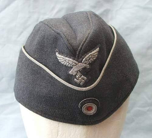 Click image for larger version.  Name:Luftwaffe Officer's Sidecap 003.jpg Views:93 Size:189.6 KB ID:584599