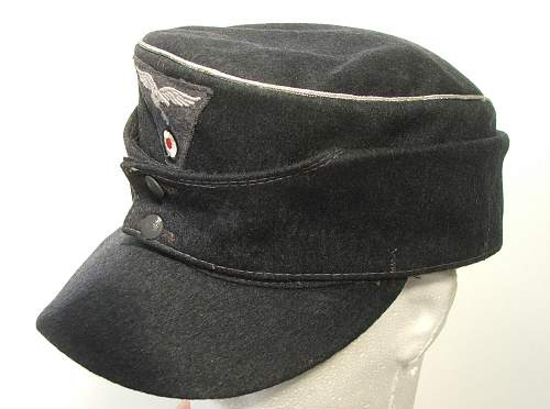 Click image for larger version.  Name:M43 Officer cap RB marked 005.jpg Views:411 Size:217.1 KB ID:586699