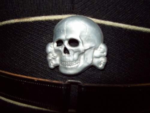 Black Cap for Identification