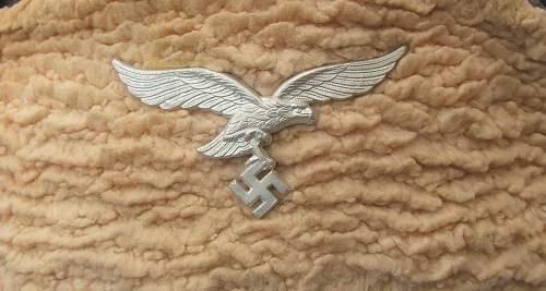 Luftwaffe Pelzmuetze