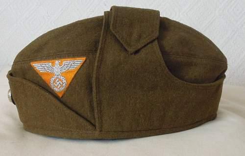 Wartime Produced SA Headgear