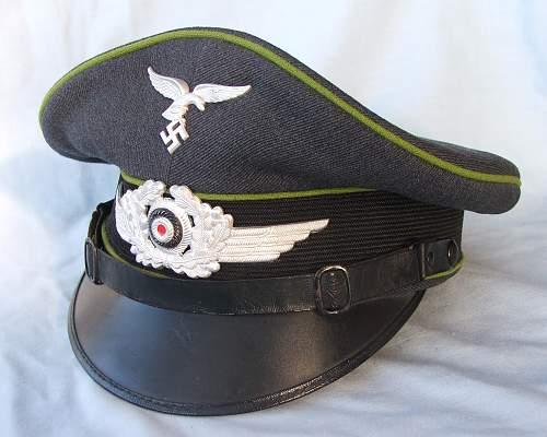 Click image for larger version.  Name:NCO Air Traffic Control visor cap 001.jpg Views:214 Size:222.0 KB ID:587630