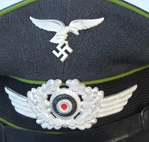 Click image for larger version.  Name:NCO Air Traffic Control visor cap 006.jpg Views:67 Size:231.2 KB ID:587635