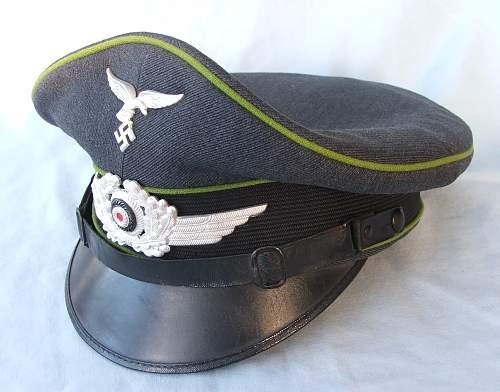 Click image for larger version.  Name:NCO Air Traffic Control visor cap 009.jpg Views:69 Size:221.0 KB ID:587638