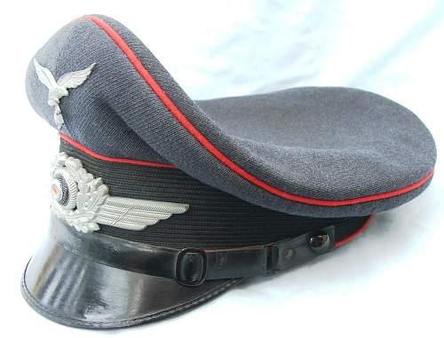 Click image for larger version.  Name:Flak NCO visor cap 005.jpg Views:75 Size:218.1 KB ID:587668