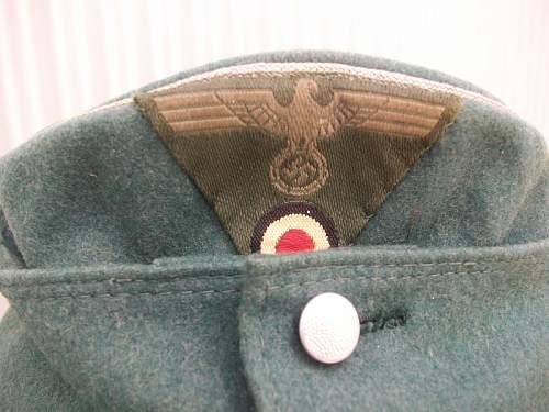 Heer M43 officer einheitsfeldmutze