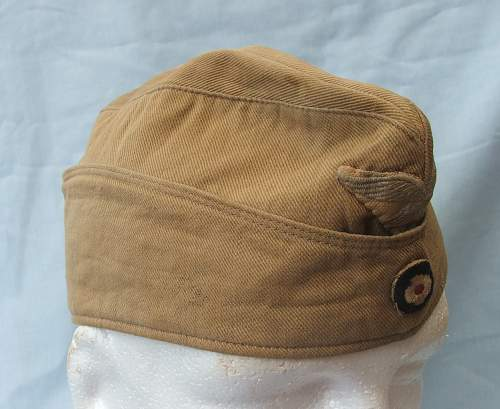 Luftwaffe tropical sice cap (overseas cap) by Schellenberg