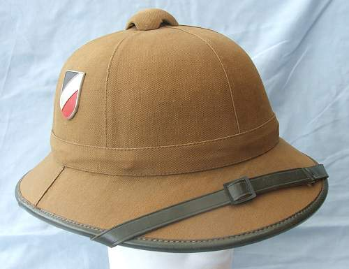 Click image for larger version.  Name:Tropical sun helmet 1st pattern Heer 003.jpg Views:85 Size:221.9 KB ID:589008