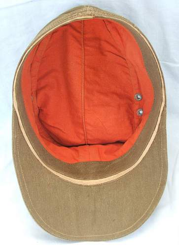 Click image for larger version.  Name:DAK M1940 field cap 2nd pattern 009.jpg Views:84 Size:225.1 KB ID:606618