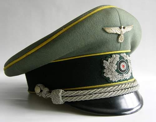eReL Officer Signal Visor Cap