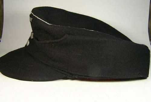 43 black officer panzer cap for Ben