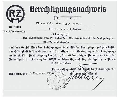 with the RZM tag goes the RZM license