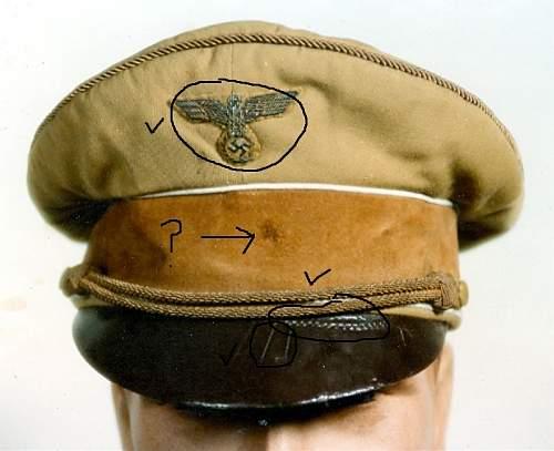 Hitler Visor #4 (or 6)