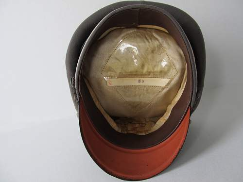 SOS find, Officers Visor Cap with all embroidered insignia