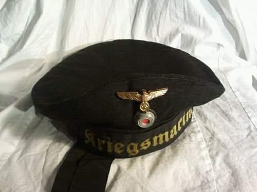 "Kriegsmarine  ""tellermutze"" ... opinions?"