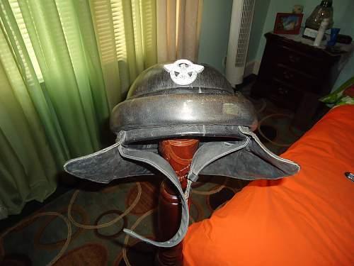 Question on motorcycle crash helmet